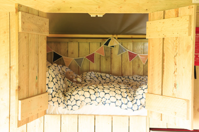 Cupboard Bed Safari Tent glamping