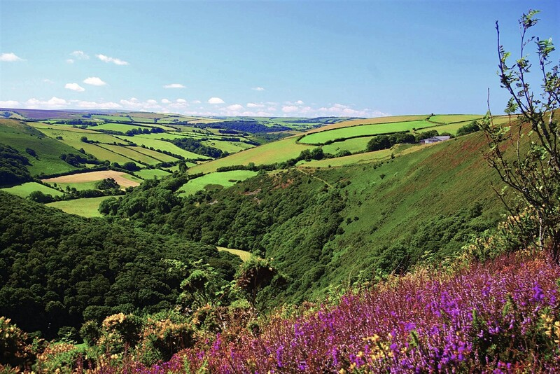 The heart of Exmoor National Park