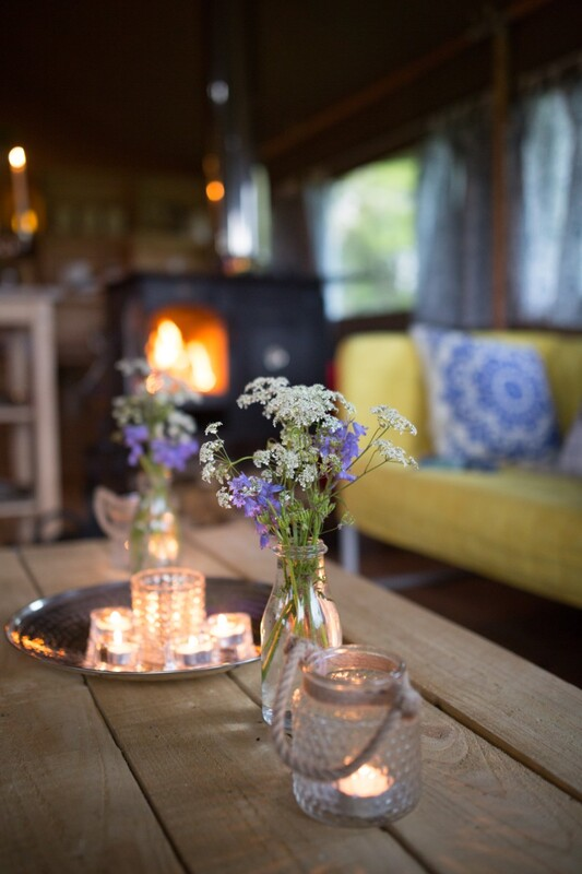 Romantic Glamping in Somerset